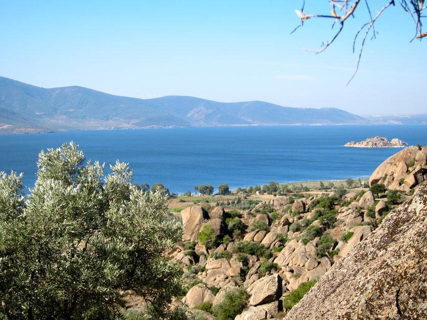 Wandern im Latmosgebirge am Bafa See, Türkei Lykische Küste