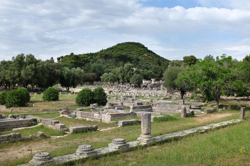 1000 Jahre Sport Kultstätte Olympia, Peloponnes
