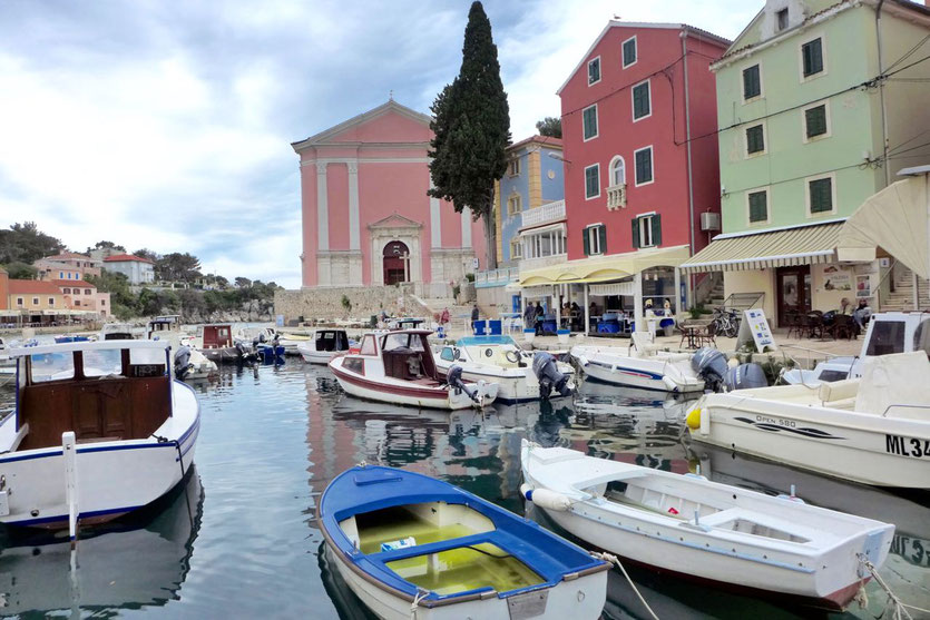 alte kleine Hafenstadt Altstadt Veli Losinj Tipps Kroatien