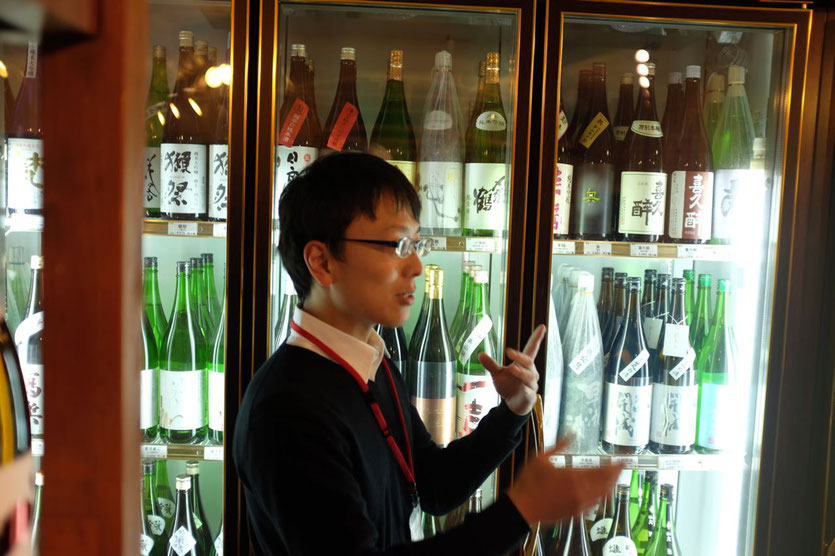 best Sake shop Tokyo Isego with wide selection