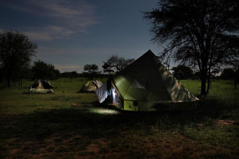 Pimbi Public Campsite  Serengeti Tanzania
