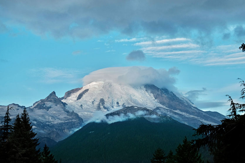 Mount Rainier von Sunrise Washington State