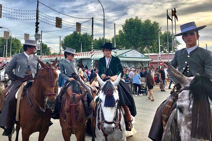 Stolze Reiter Feria de Abril Sevilla