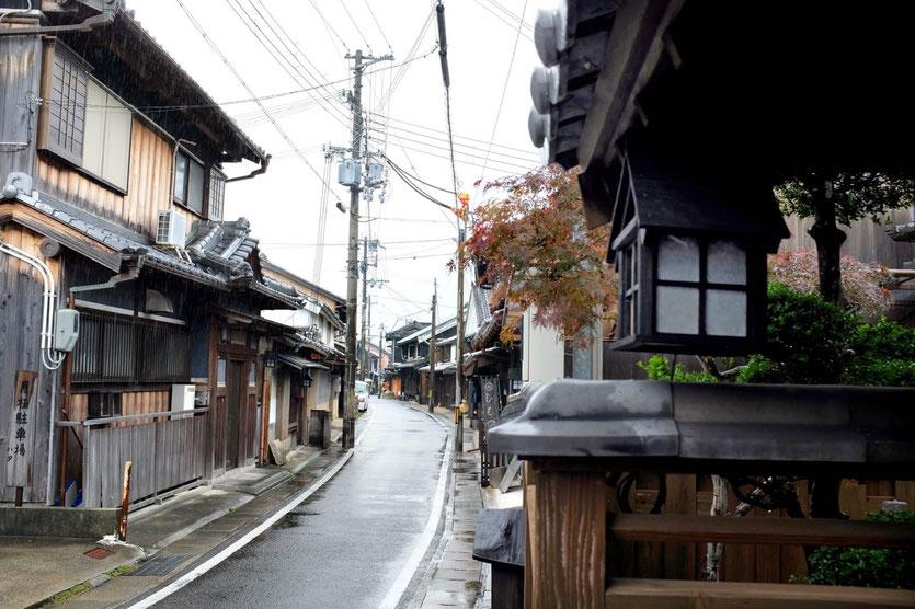 historische Dorf Yuasa in Wakayama