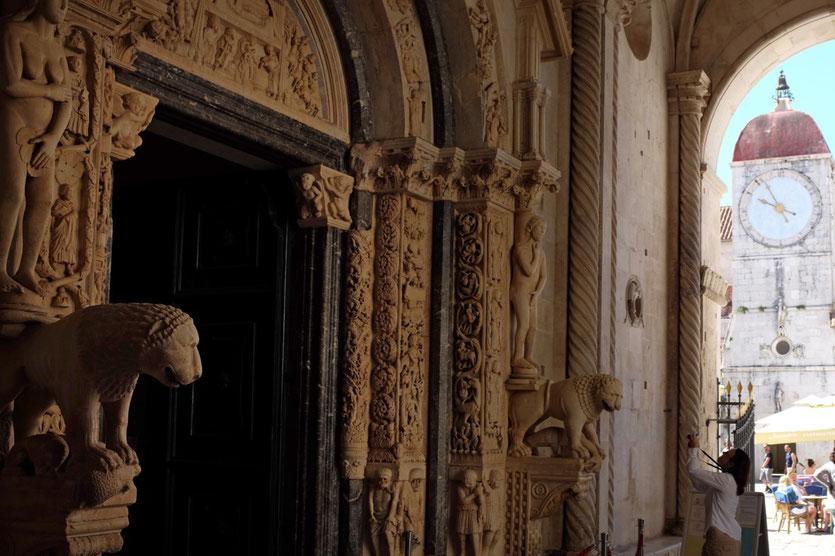 Trogir Kathedrale Sveti Lovro Kroatien