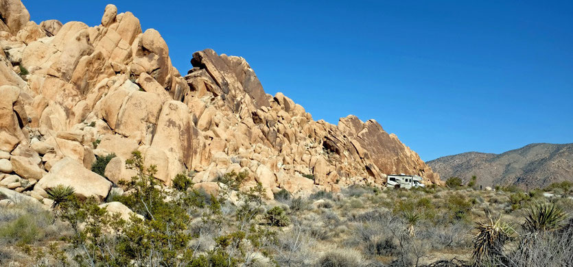 Indian Cove Camping Campground Joshua Tree National Park
