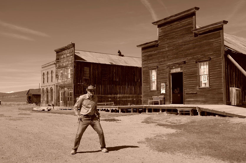 Bodie Ghost Town, State Historic Park Californien