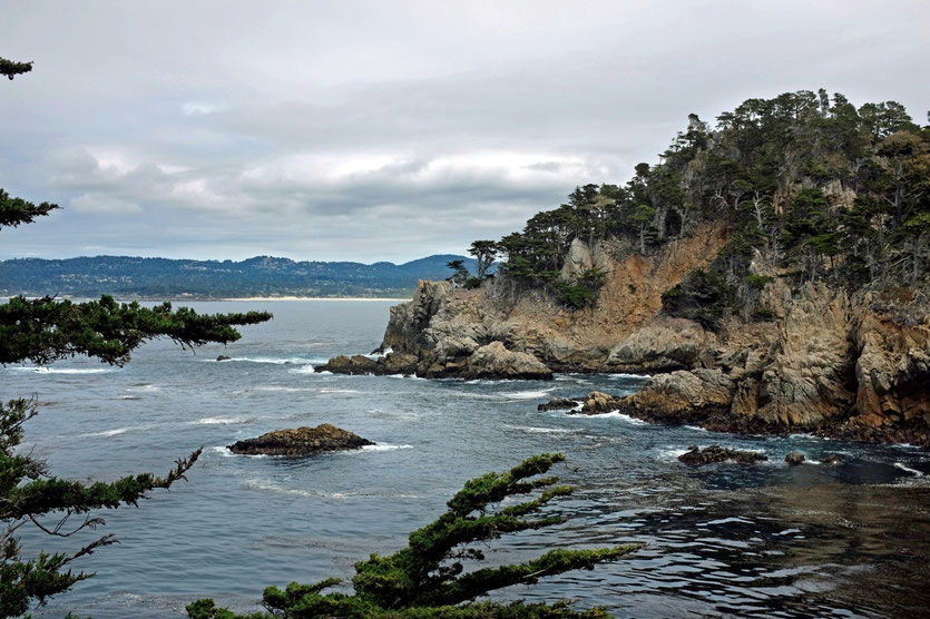 Point Lobos State Reserve bei Monterey Highway No 1 Pacific Coast Highway California