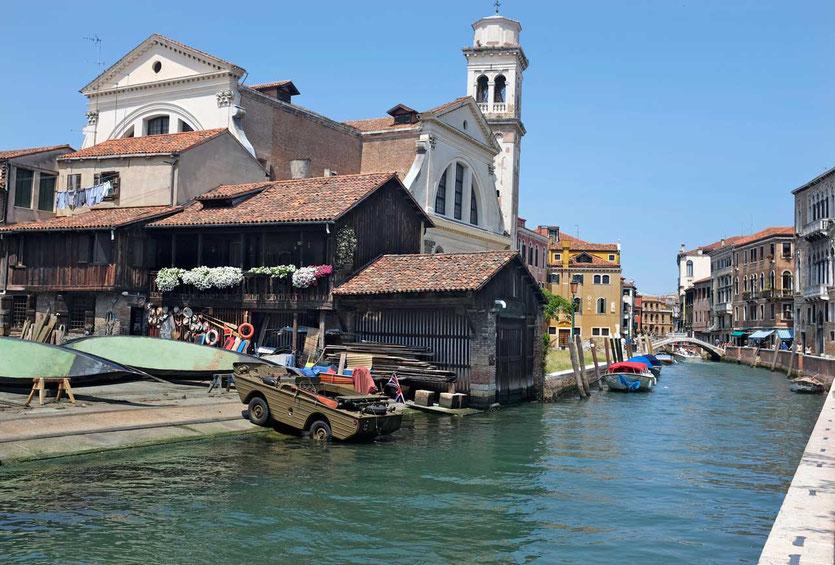 alte Gondelwerft Venedig