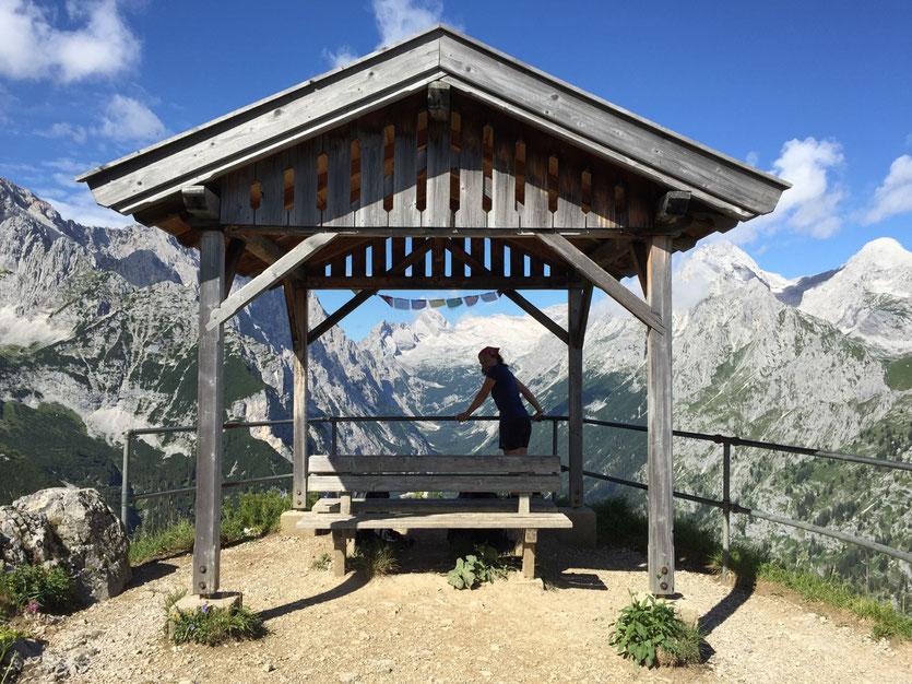 Ausblick Schachenhaus Wanderung Bayern Garmisch