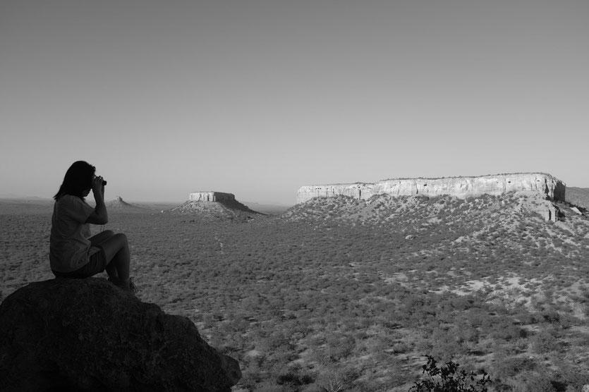 Ugab-Terrassen, Blick vom Vingerklip, Namibia