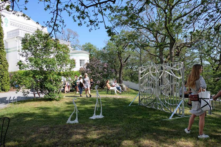 Garten Villa Thiel Gallery Djurgården  Stockholm