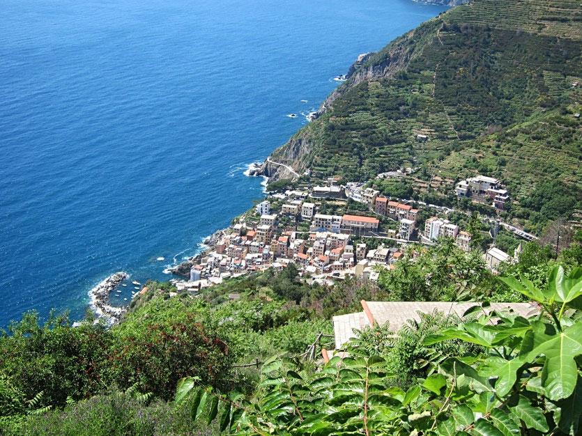 Wanderung Riomaggiore, Ligurien