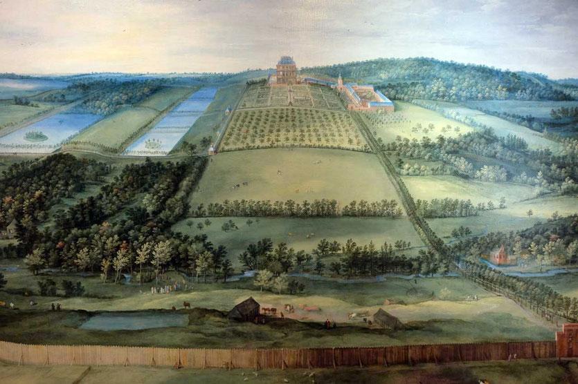 'Blick auf Château de Mariemont' von Jan Brueghel the Elder