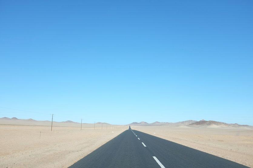 Strasse von Aus nach Lüderitz, Namibia