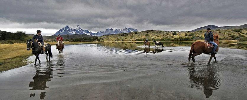 Hotel Explora Patagonia Ausritte Reitausflug