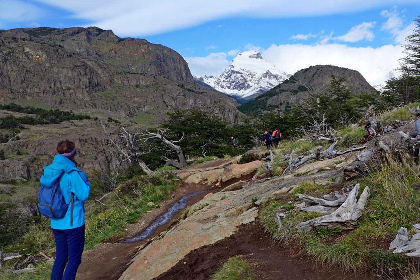Wanderweg zur Laguna Cerro Torre El Chalten