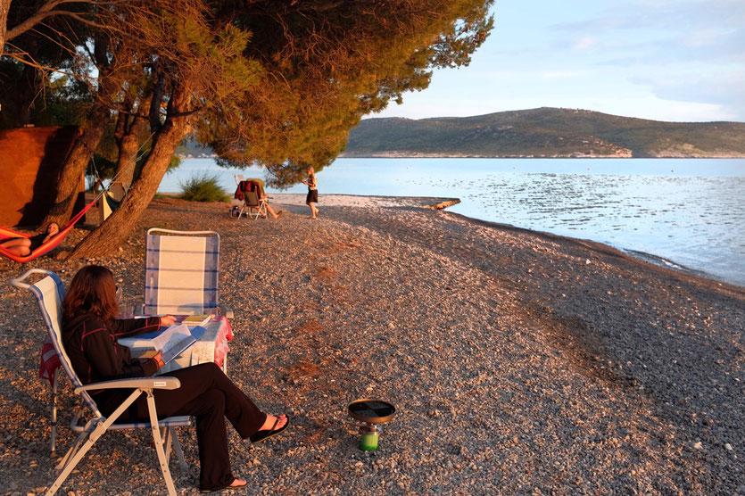 Campingplatz Bluesun Camp Plakenica  Starigrad Plakenica Kroatien