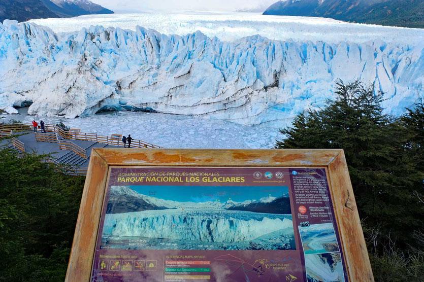 Ein Gletscher mit der Dimension von Buenos Aires