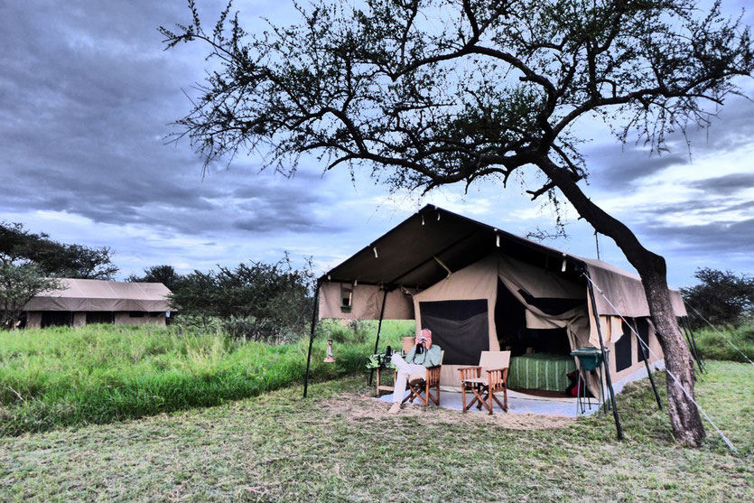Luxury Tented Camp Kati Kati, Serengeti Tansania