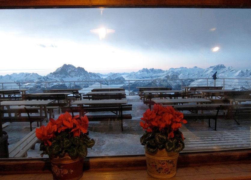 Traumhütte gefunden – Rifugio Lagazuoi bei Cortina d'Ampezzo