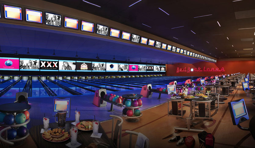 largest Bowling Center Las Vegas Red Rock Bowling Alley