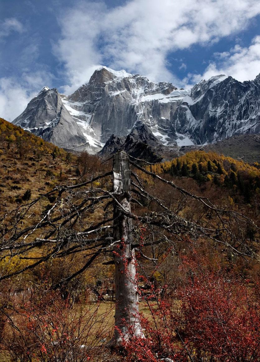 Mount Siguniang trekking, four sisters