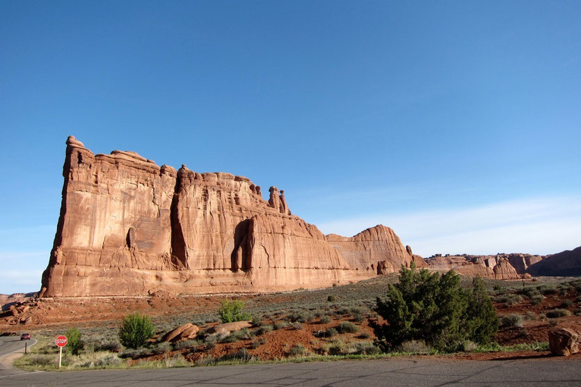 Tower of Babel, Park Avenue Arches National Park USA Südwesten Utah