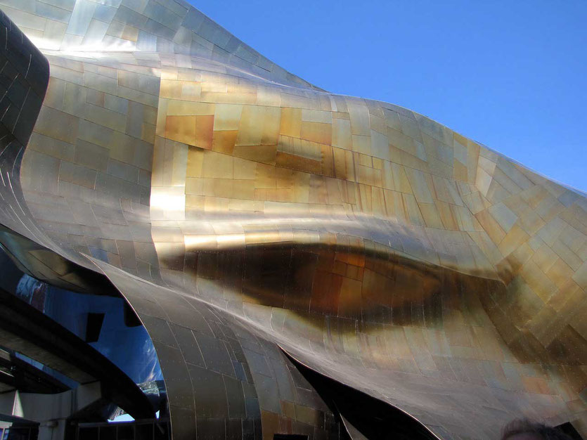 Museum of Pop Culture (MoPOP) Architektur von Frank Gehry