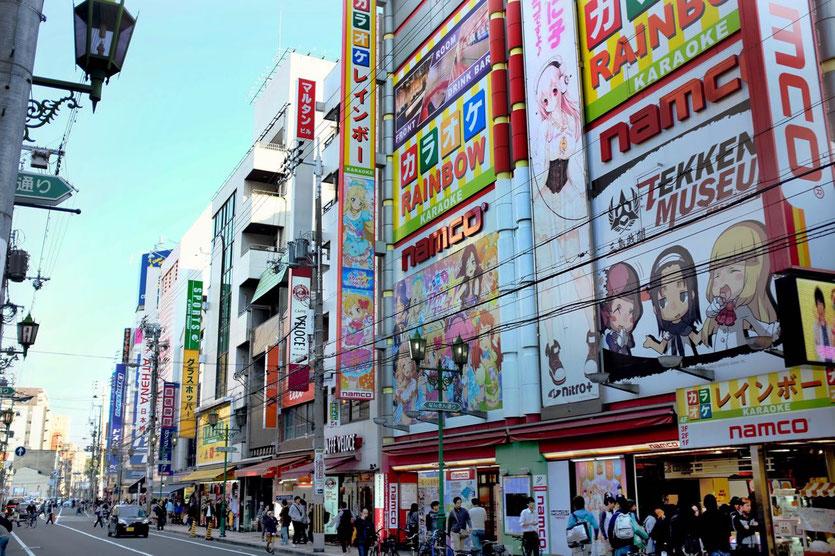 Den Den Town Electronic City Osaka