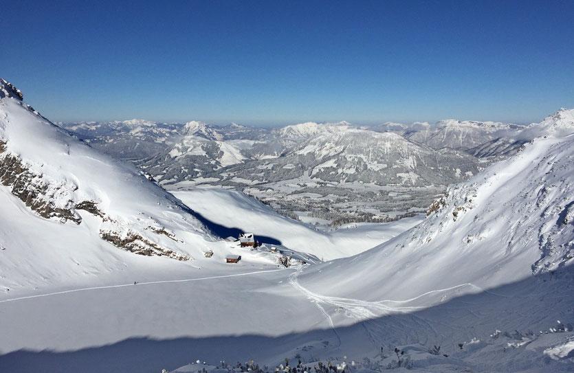 Skigebiet Saalbach-Hinterglemm Leogang und Fieberbrunn