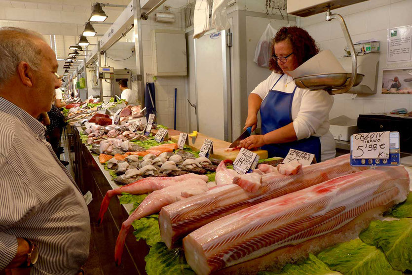 Cazón Hundshai Fischmarkt Cadiz