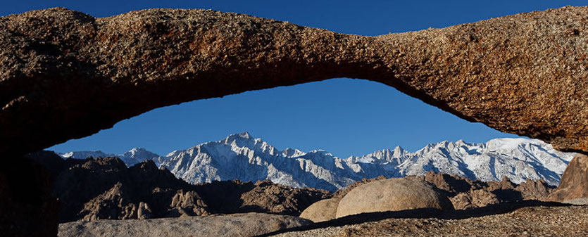 Lathe Arch © Lone Pine Chamber of Commerce