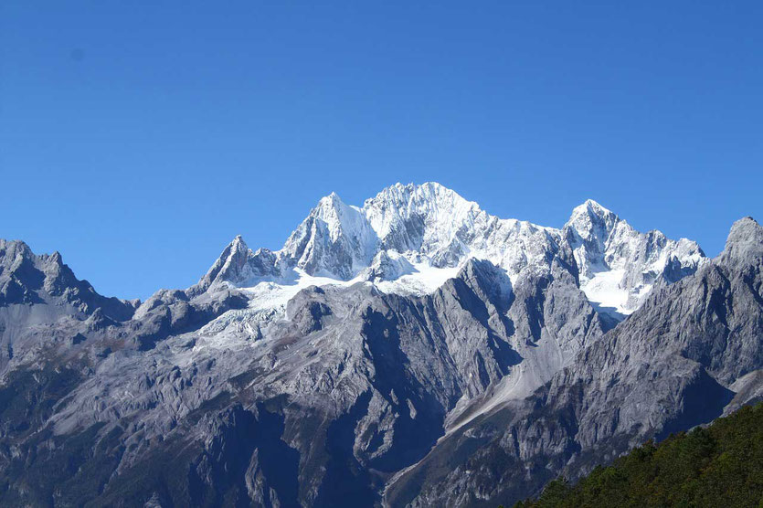 Jade Dragon Snow Mountain (Mount Yulong) bei Lijiang