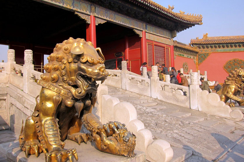 verbotene stadt, kaiserpalast peking