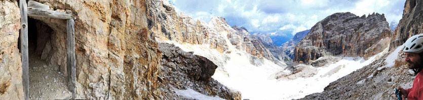 Dolomiten Cortina d'Ampezzo Sentiero della Pace Friedensweg
