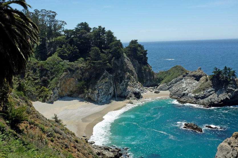 Julia Pfeiffer Burns State Park in Big Sur
