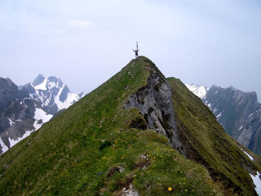 Variante über Marwees Gipfel