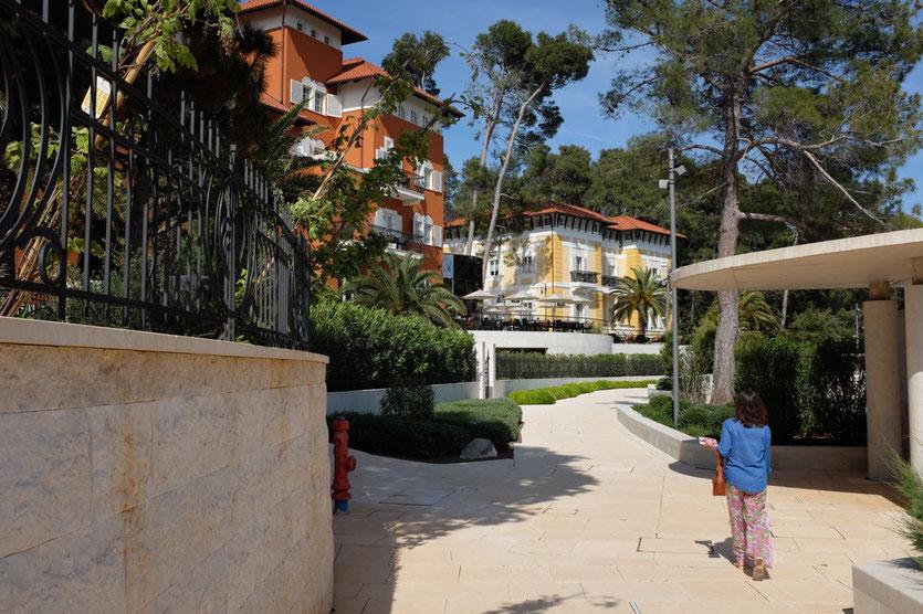 5 Sterne Boutique-Hotel Alhambra & Hortensia Mail Losinj Kroatien