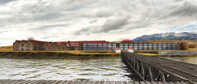 'The Singular' Hotel in Puerto Natales