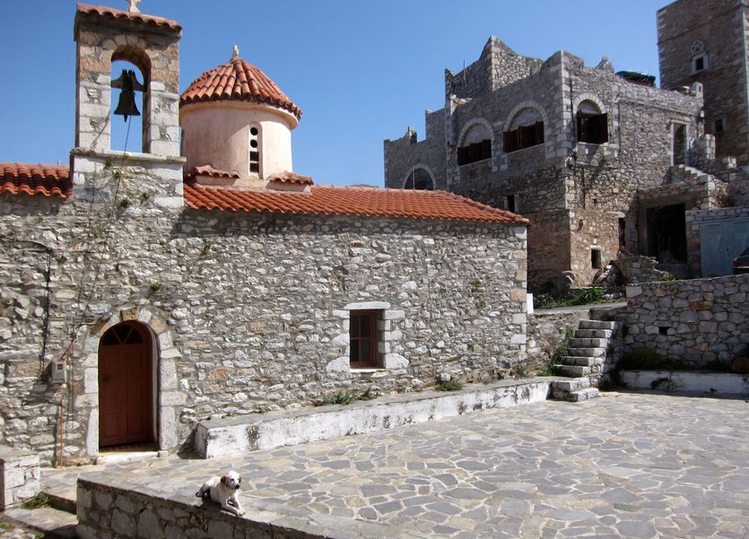 Vathia church Mani, Peloponnes