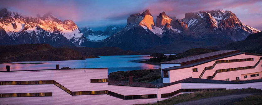 Best Spot. Das Adventure Hotel Explora Patagonia