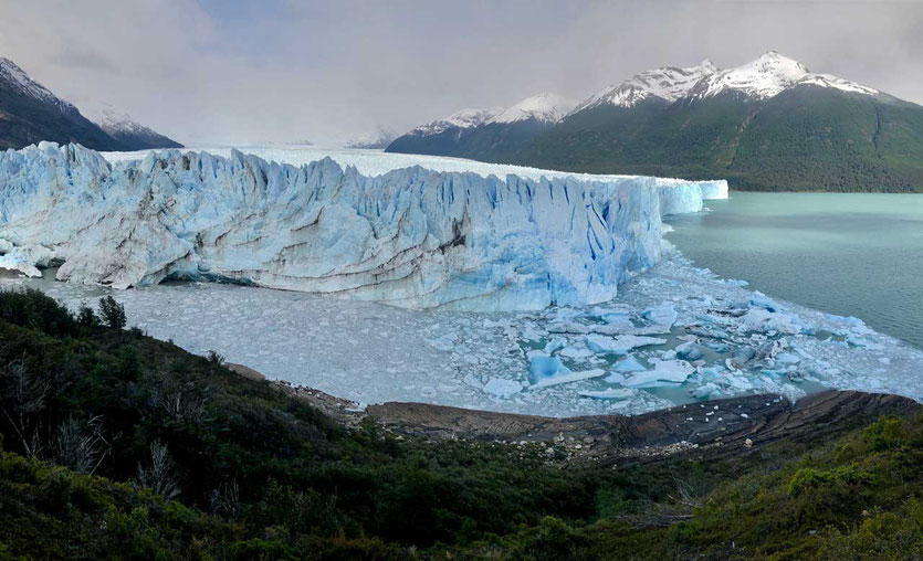 Ein Eisvorrat, der wächst