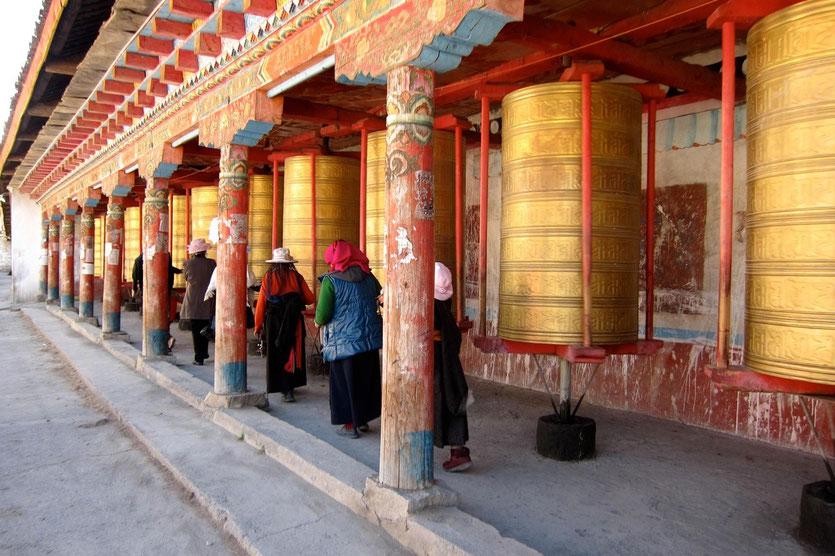 Lhagang Kloster Monastery Tagong