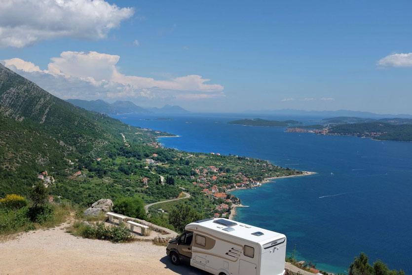 Peljesac Insel Kroatien