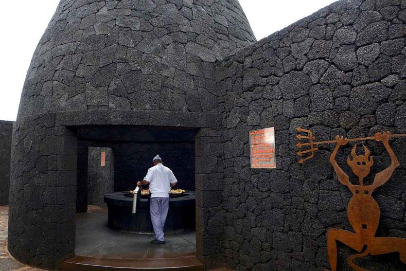 Restaurant El Diablo Vulkangrill Timanfaya Nationalpark Besucherzentrum Lanzarote