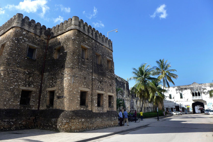 Old Fort old Stone Town Zanzibar