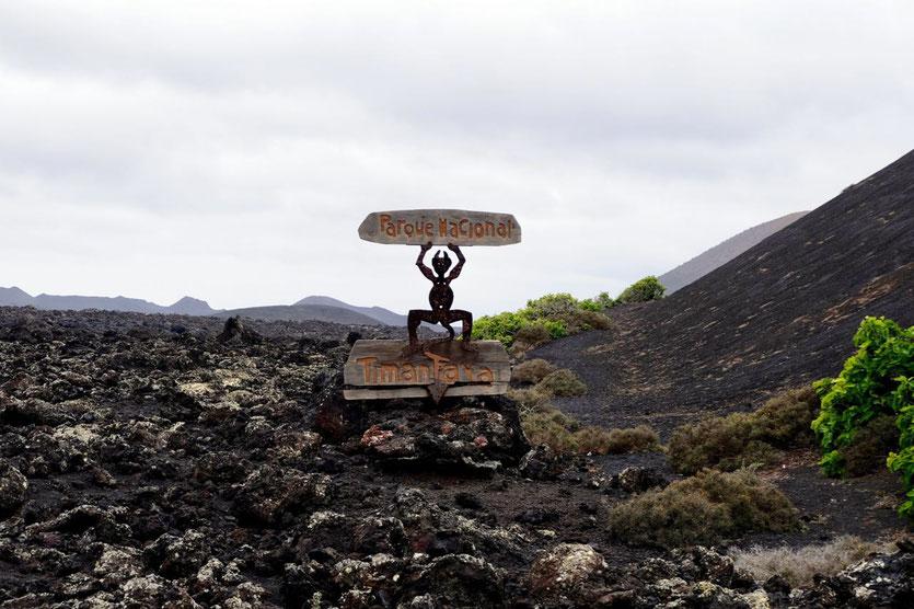 Feuerberge Vulkanlandschaft Timanfaya Nationalpark Lanzarote 'Montañas del Fuego'