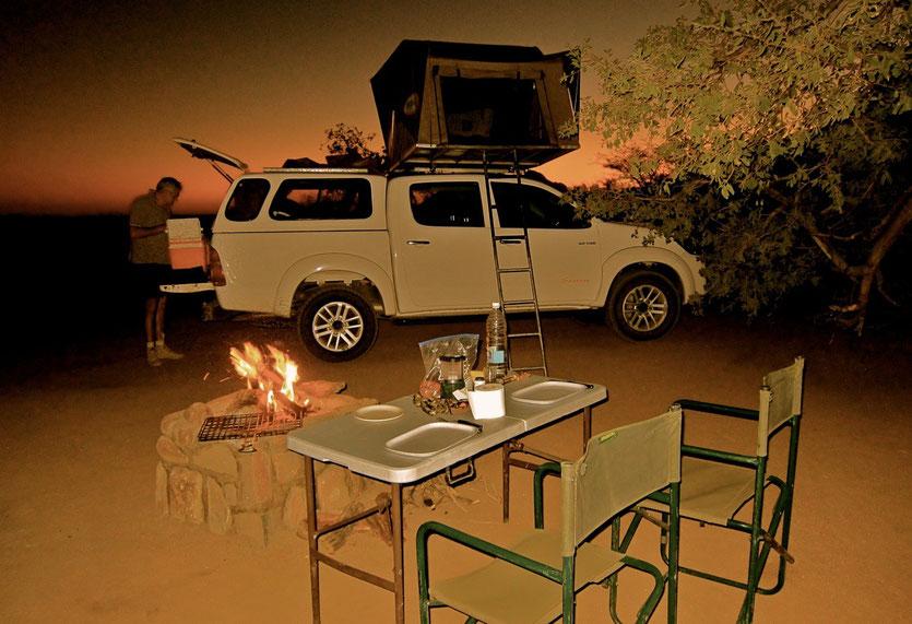 Spitzkoppe Camp Namibia