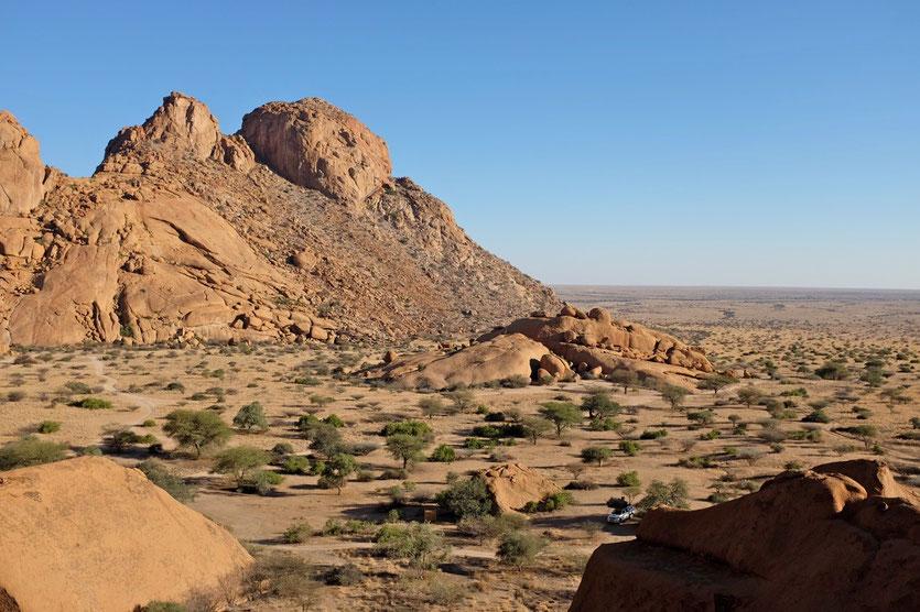 Campsite Spitzkoppe, Namibia